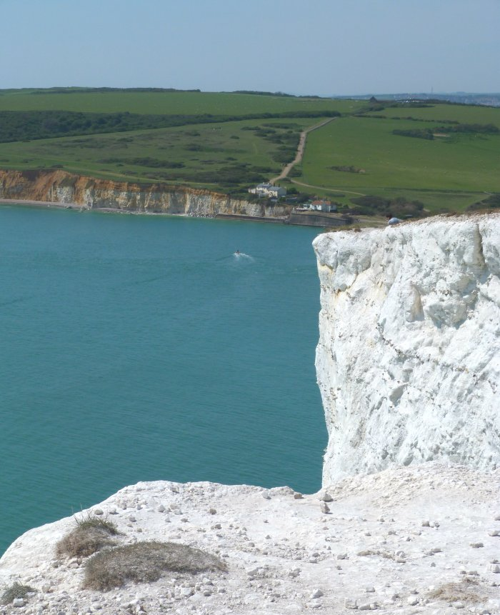 seven sisters falaises blanches