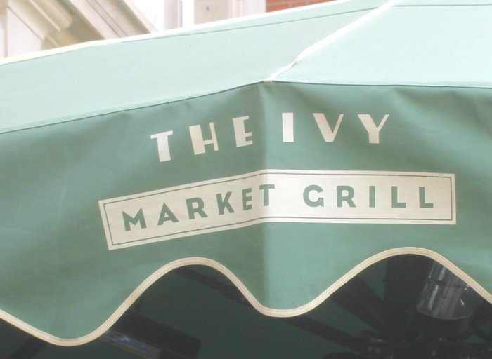 brunch à Covent Garden the ivy market grill