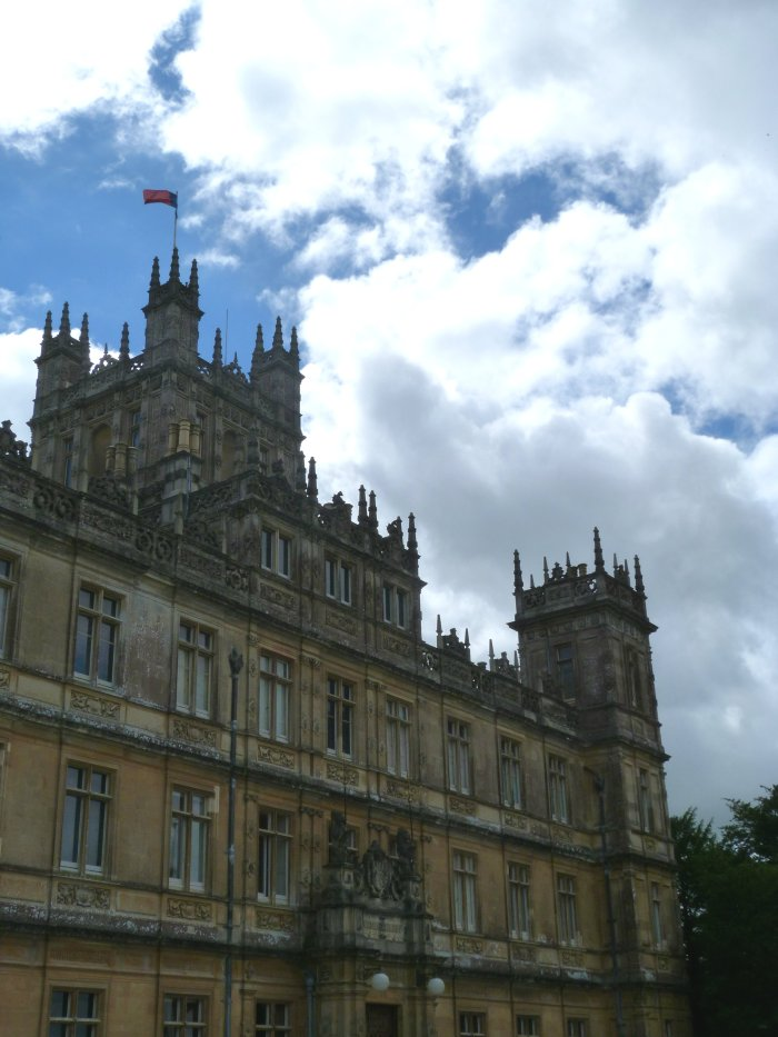 chateau downton abbey serie