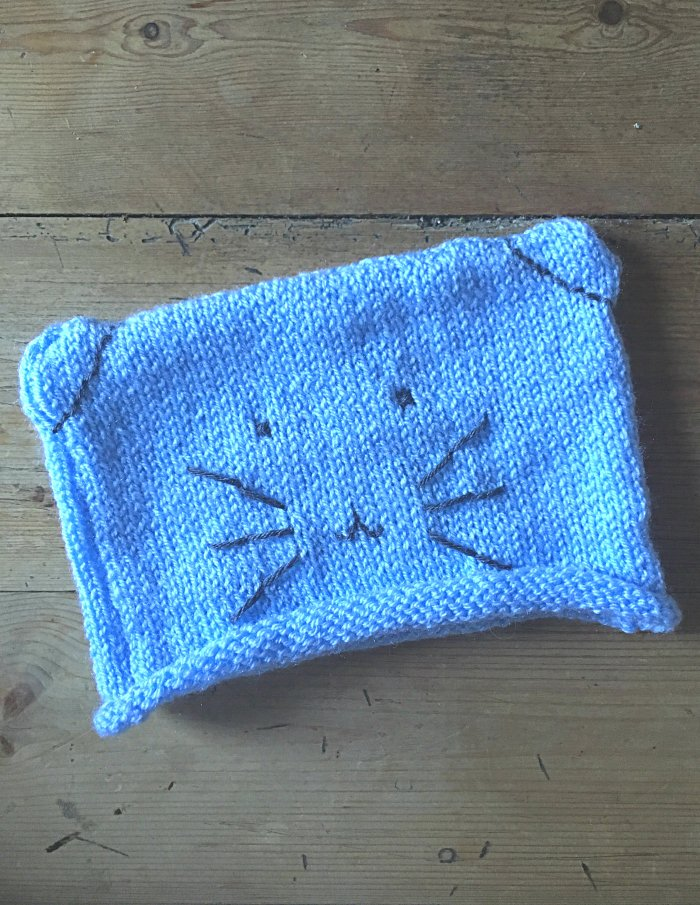 bonnet chat tricot