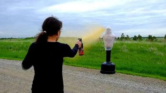 Pepper Spray Demo