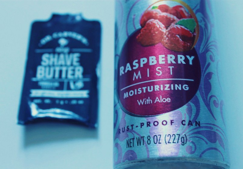 Pure Silk Shaving Cream Raspberry Mist
