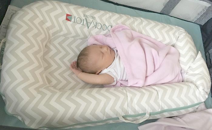 Baby in DockATot