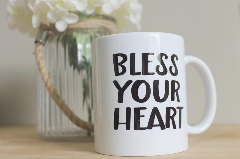 Bless Your Heart Mug