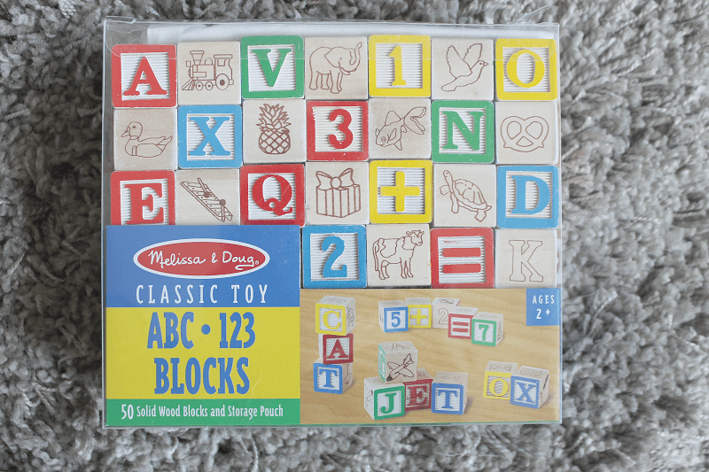 Melissa and Doug ABC 123 Blocks