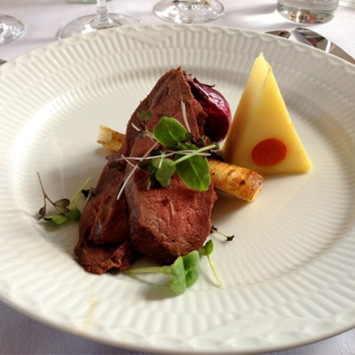 Prettyman Farms Plated Steak