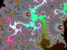 http://commons.wikimedia.org/wiki/File:Mandelbrot_Deep_Re-Twisted.jpg