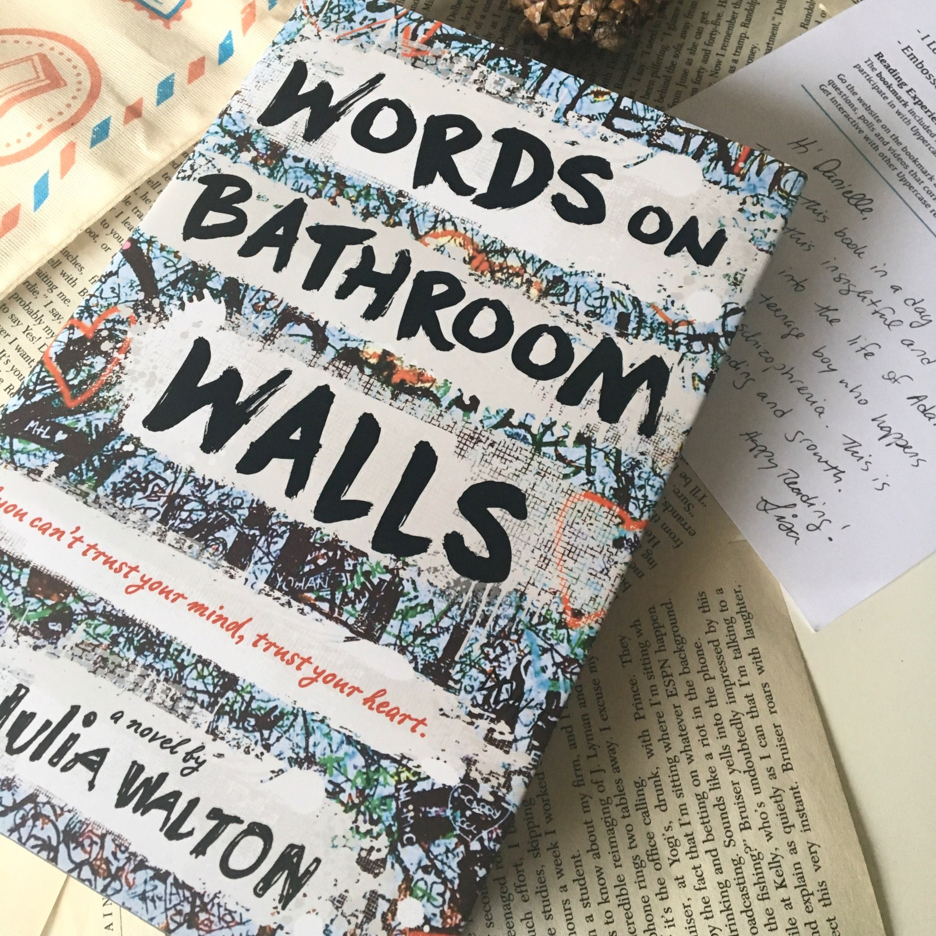 Words On Bathroom Walls by Julia Walton