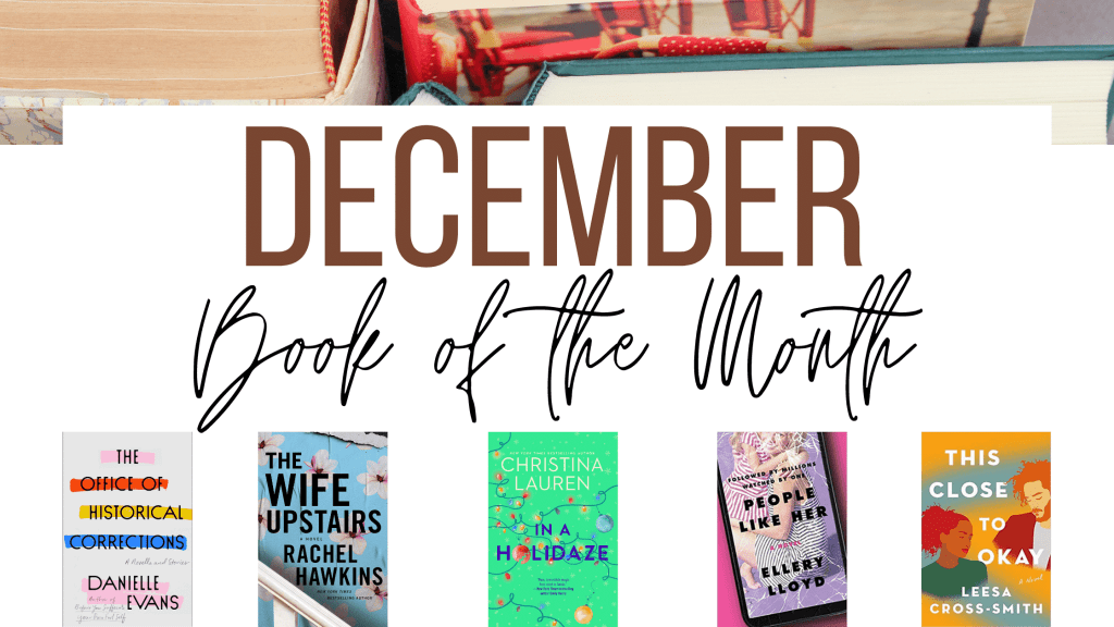 December Book of the Month 2020