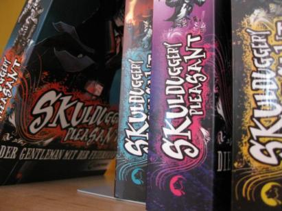 Fantasyreihe um Magie und Detektivarbeit