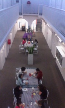 Dining area in jailstyle