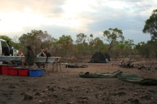 A camp in the Kimberley