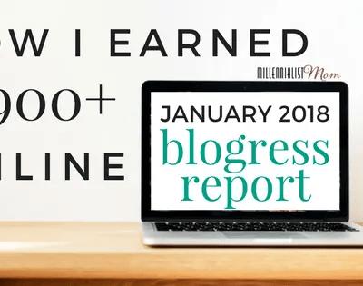 January 2018 Blogress Report