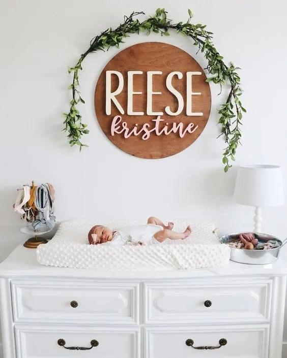 nursery art - modern nursery essentials