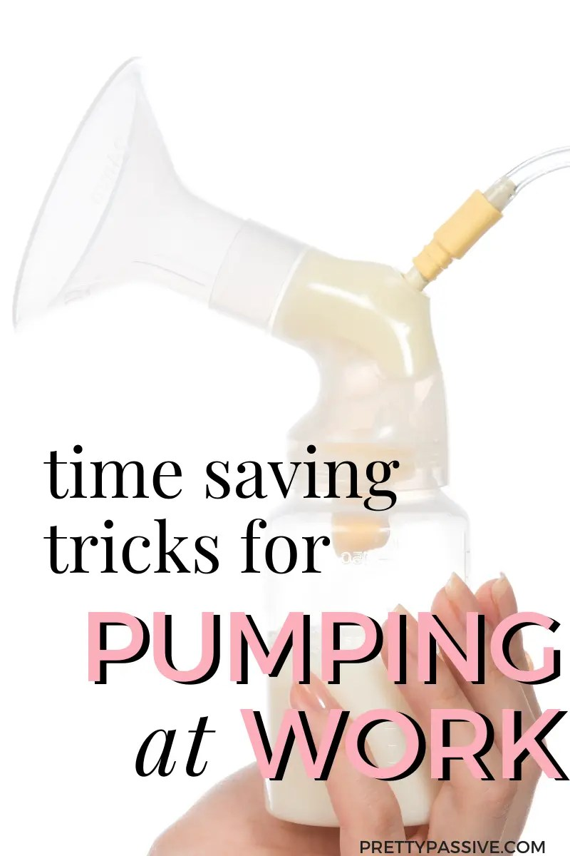 how to pump at work FAST. the best & easiest time saving tricks for breastfeeding working moms