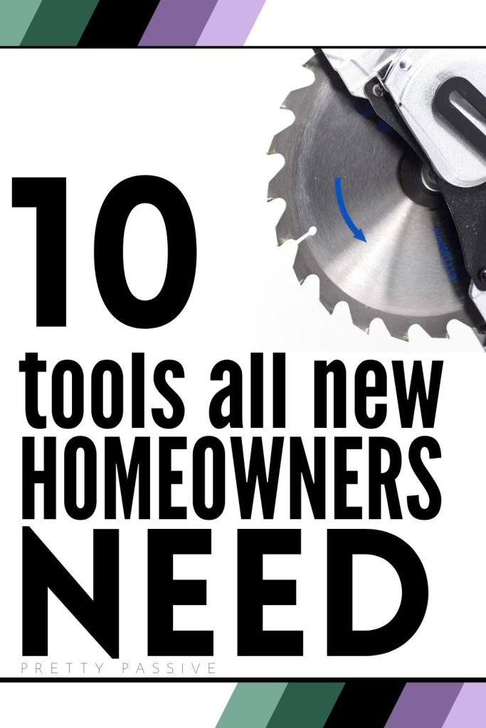 10 tools all new homeowners need. save money on home improvements with easy diy projects and your essentials toolbox.