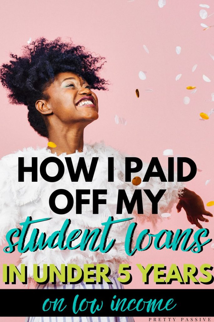 my $30k student loan payoff journey working low wage jobs, getting married, having a baby, and living on one income..!