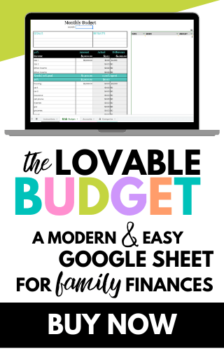 the lovable budget for budget haters. my google sheet system that changed the money management game and grew my net worth and helped me finally learn to budget consistently and effectively. cheap & easy