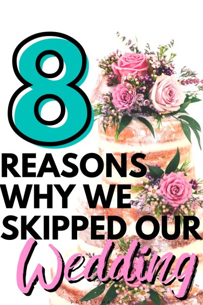 why we skipped our wedding and eloped instead - saving money on a wedding is easier than ever when you scrap the whole affair. weddings are so expensive and ultimately unnecessary. Frugal me found my money conscious soul mate and we opted out of the traditional wedding for several reasons (and saved thousands of dollars)