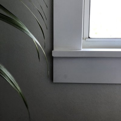 Easy DIY Modern Window Casing