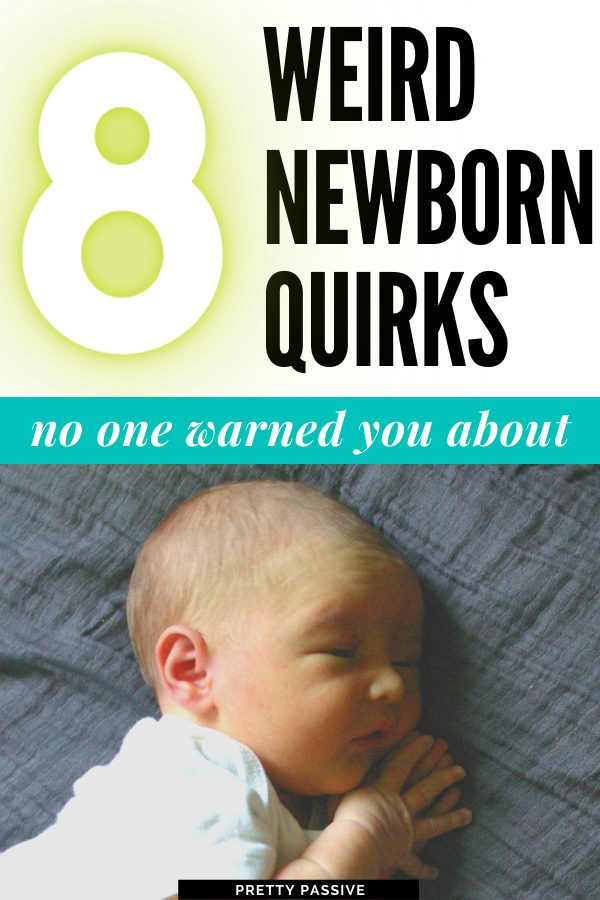 8 weird newborn quirks no one warns you about. The grunting, molting, and overwhelming *newness* that makes the newborn period so sweet and surprising for new and veteran moms and dads