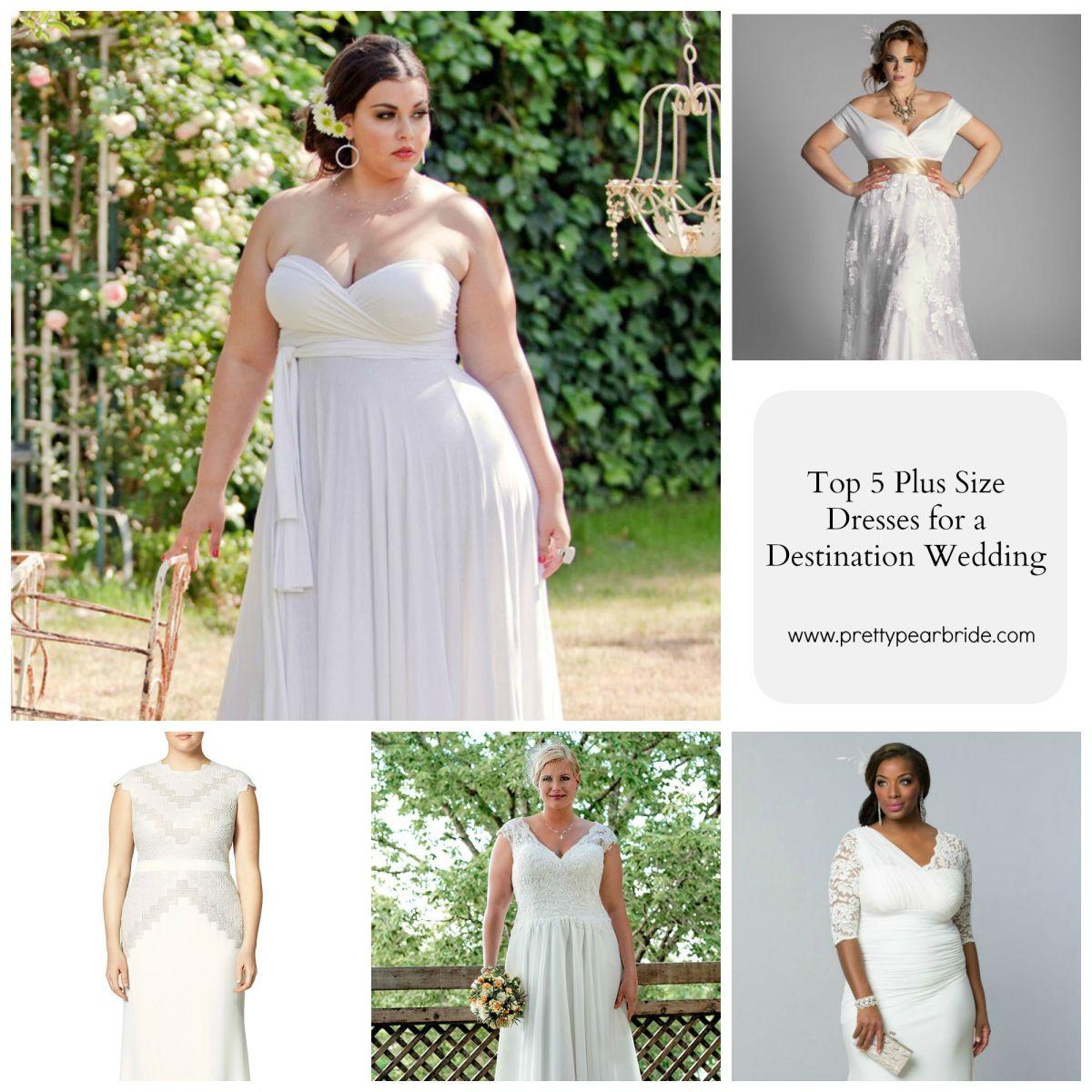 Top 5 Plus Size Wedding Dresses For A Destination Wedding