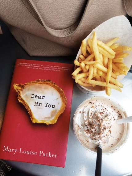 Basically the trifecta for me: a good book, a chocolate peanut butter milkshake, and fries at Burger 21.