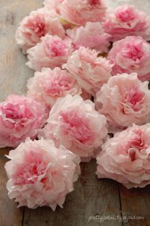 Peony Coffee Filter Flowers Tutorial   Pretty Petals Cfflowers22