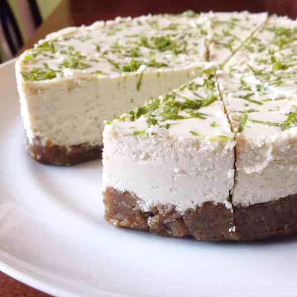 Key Lime Vegan Cheesecake