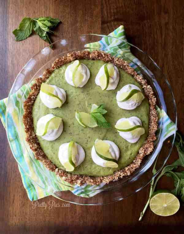 Frozen Mojito Pie | Pretty Pies