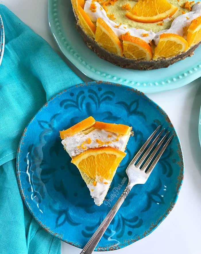 Orange Dreamsicle Cheesecake PrettyPies