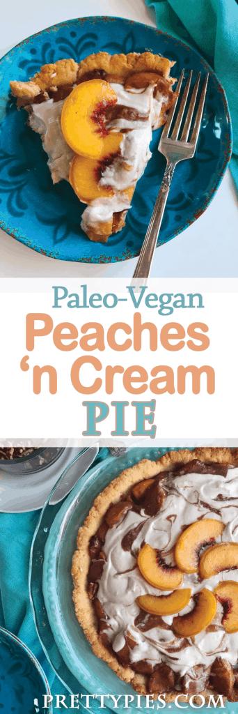 Peaches 'n Cream Pie - PrettyPies.com