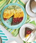 Rainbow Cake Batter Pie - PrettyPies.com