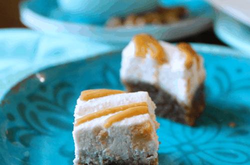 Peanut Butter Cream Cakes (Vegan, No-Bake} PrettyPies.com