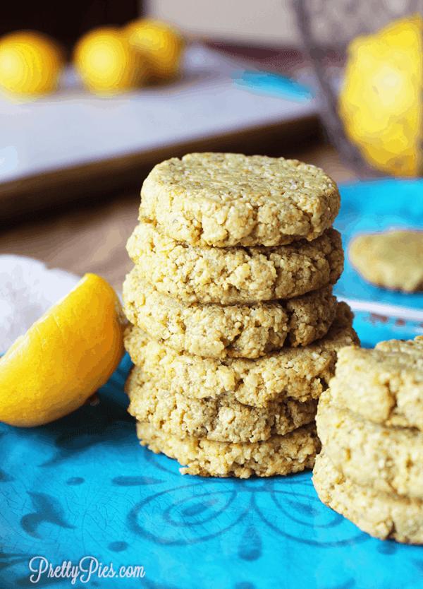 Life Changing Lemon Cookies (Low-Carb, Vegan, Paleo)