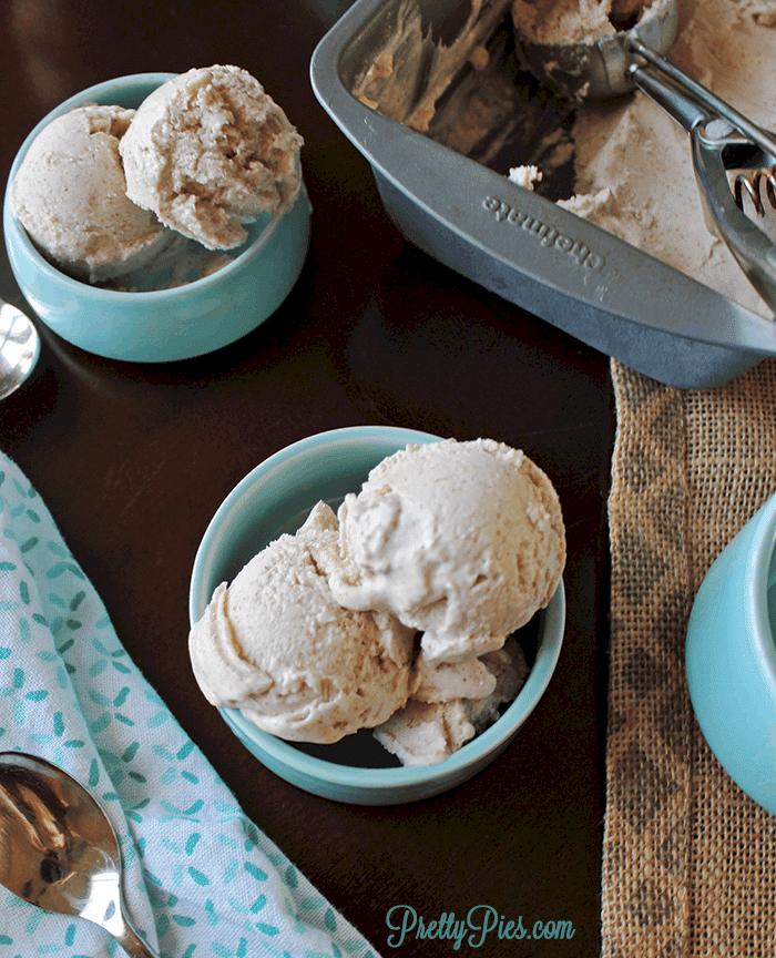 Dairy Free Keto 4-Ingredient Ice Cream (Vegan & Paleo) PrettyPies.com