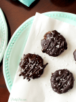 Chocolate Dipped Coconut Cookies (Keto, Paleo, Vegan) PrettyPies.com