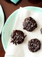 Chocolate Dipped Coconut Cookies (Keto, Paleo, Vegan) PrettyPies.com
