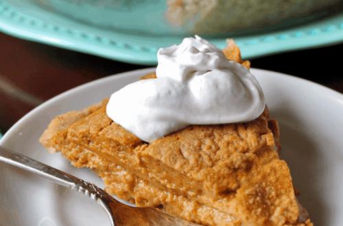Keto Pumpkin Pie (Vegan, Paleo) PrettyPies.com