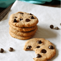 Chewy Chocolate Chip Cookies (Keto, Paleo, Vegan)