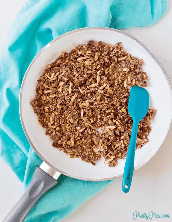 Grain-Free, Low-Carb Granola (paleo, keto, vegan)