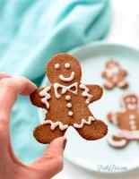 Keto Gingerbread Cookies (GF, Sugar-Free, Low-Carb, Paleo, Vegan)