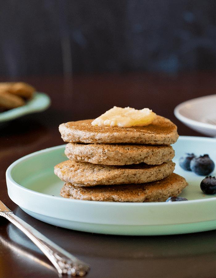 Low-Carb Pancakes (Dairy-Free, Egg-Free) PrettyPies.com