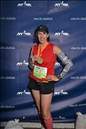 New York City marathon finisher