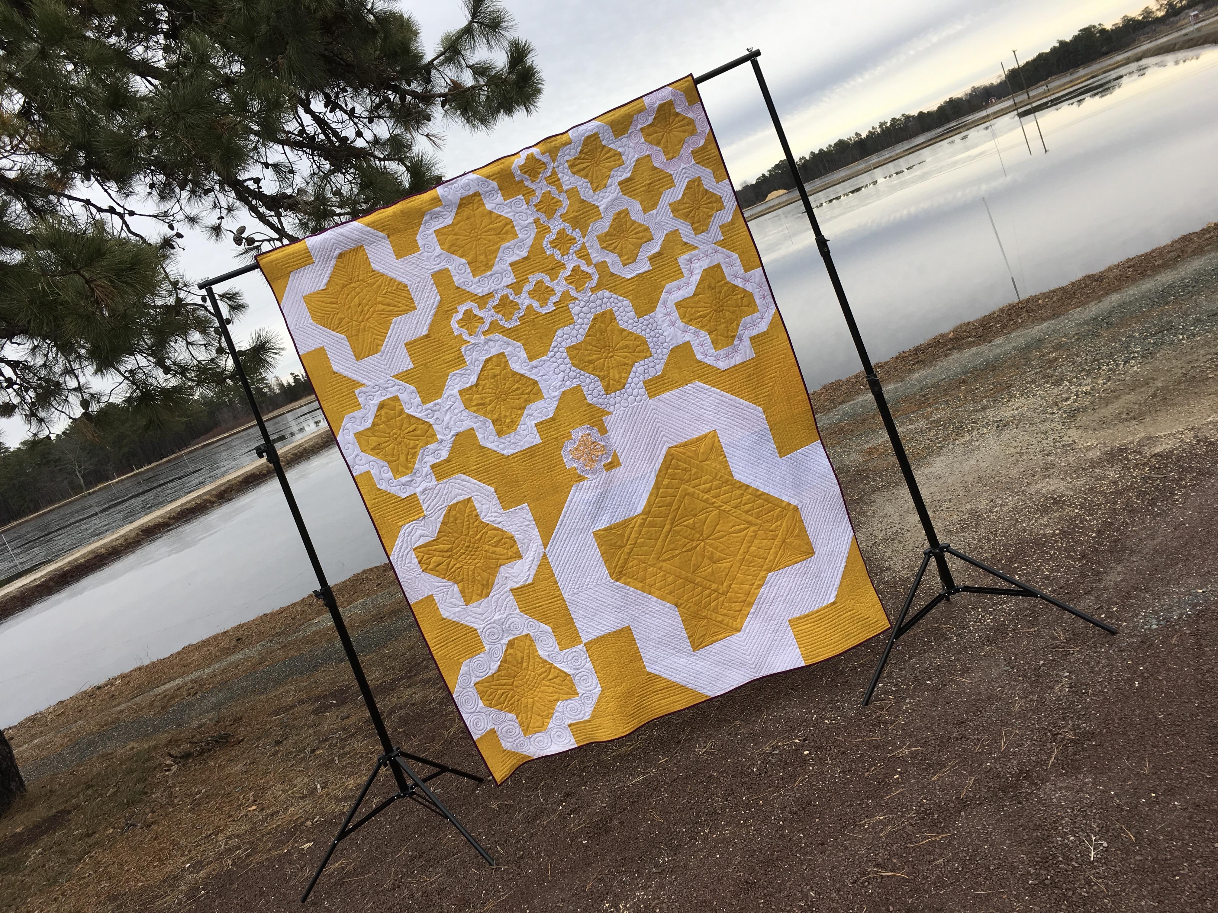 Das Gelbe vom Ei MQG Charity Quilt