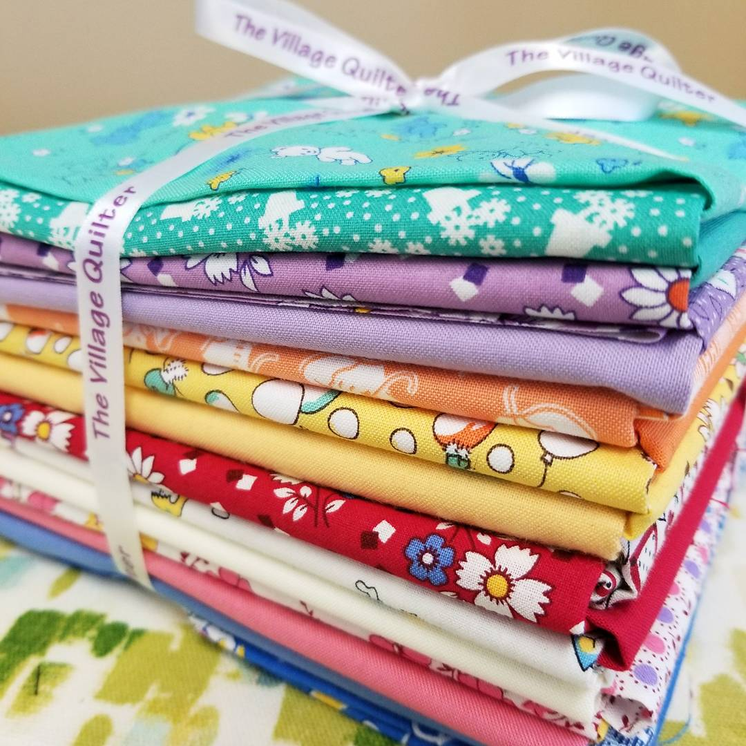 village quilter fat quarter bundle row by row prize