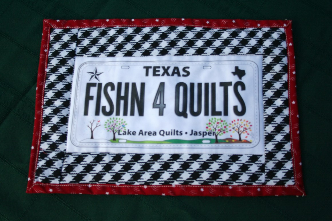 Texas quilt license plate