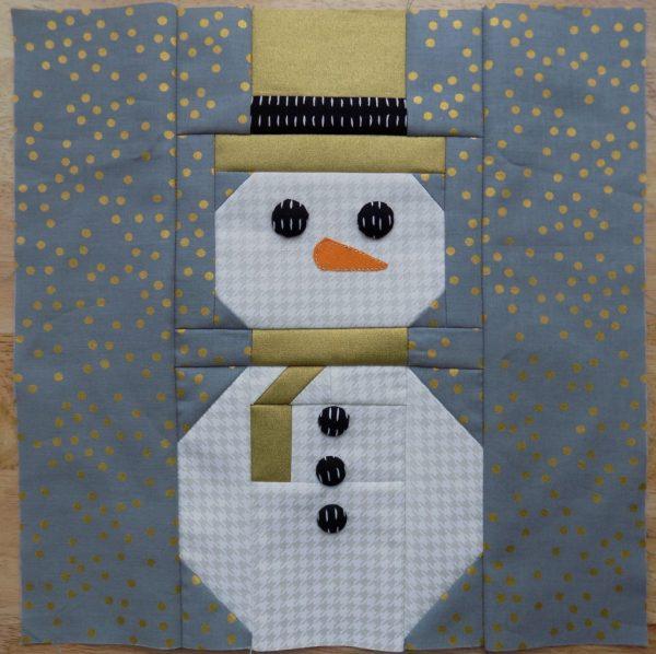 Dapper Dan the Glam Snowman