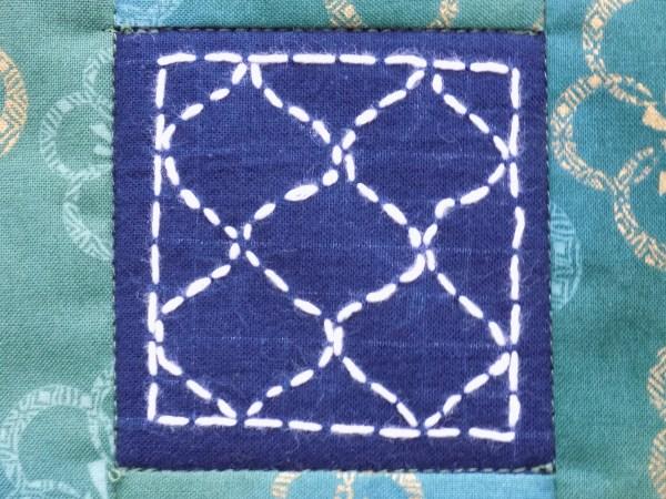 mug rug detail