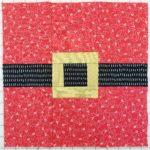 quilt-a-long block three santa belt